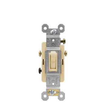 15 Amp 3 Way Residential Grade Toggle Switch