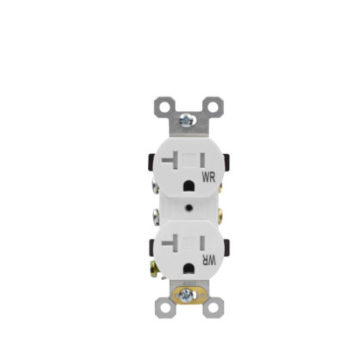 15 Amp Tamper Resistant Residential Grade Duplex Receptacle