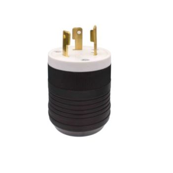 30 Amp, 125 Volt Locking Plug