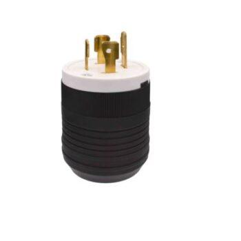 20 Amp 125/250V Locking Grounding Plug