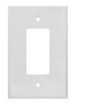 1 Gang Jumbo Smooth Metal Decorator Device Wall Plate
