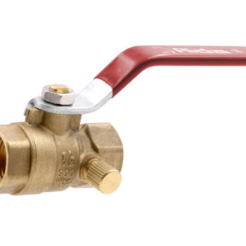 Ball Valve with Drain Thread 1/2 Lead Free