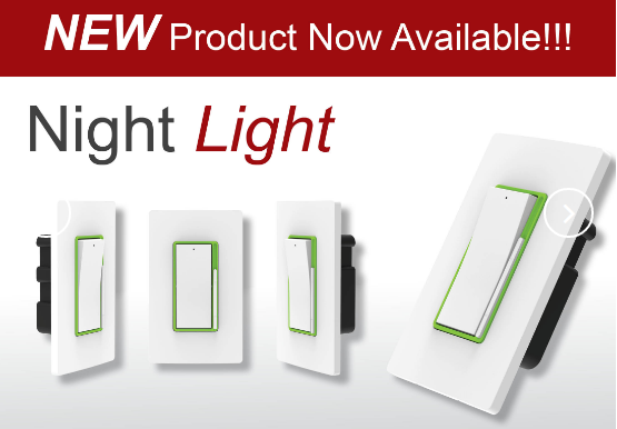 New Product Slider - Night Light