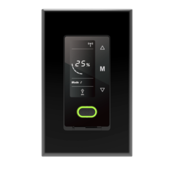 Touch Panel Smart Dimmer with WIFI Control Single Pole 120v Slim Profile